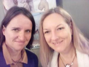 Schneeweisschen und Rosenrot bündeln ihr Gehinschmalz beim Wiener Netzwerk der gesunden Schulen - Jahrestagung im Rathaus - unser Verein wächst schön